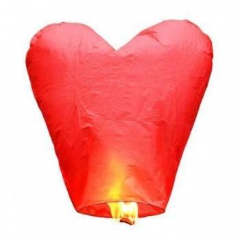 5 corazones voladores rojos