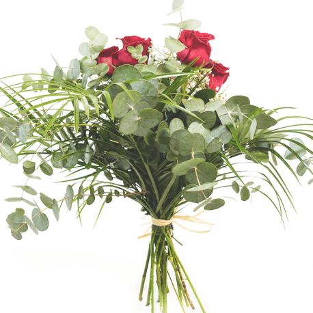 Sexta de rosas rojas