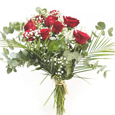 Novena de rosas rojas