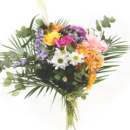 Ramo de flores colorido