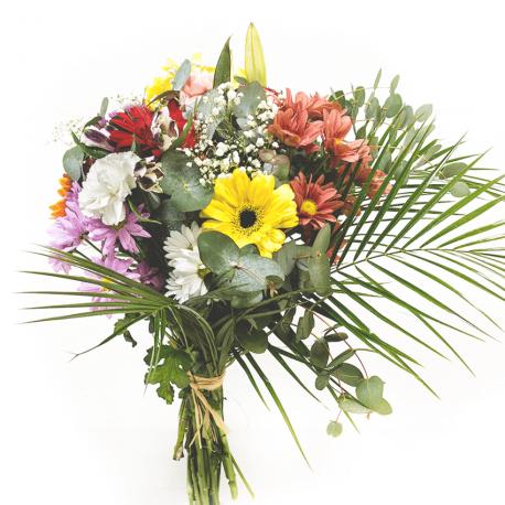 Ramo colorido de flores