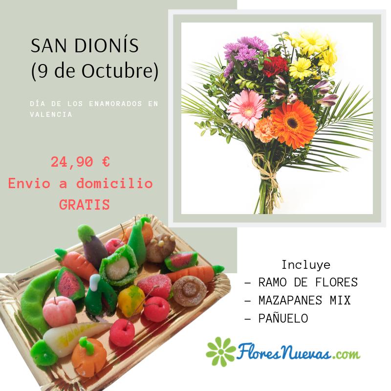 Pack enamorados Valencia (Sant Dionís)